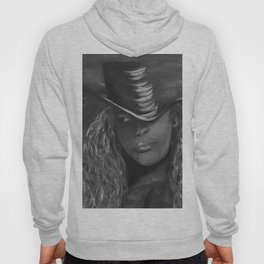 Invisible 2 by Lu, black-and-white Hoody