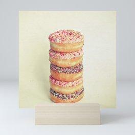 Stack of Donuts Mini Art Print