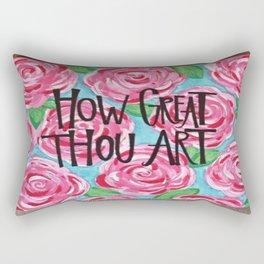 How Great Thou Art Rectangular Pillow