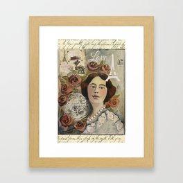 Roseline Framed Art Print