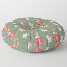 Holiday Treats Floor Pillow