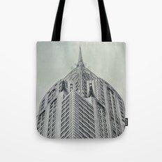 Vintage Chrysler Cuilding 1930's Tote Bag