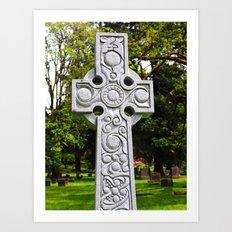 Celtic Spring Art Print