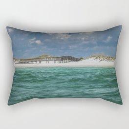 Boardwalk At Shell Island  Rectangular Pillow