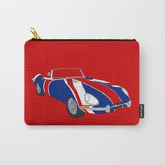 Shaguar (on Red) Carry-All Pouch