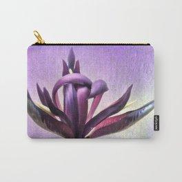 Wild Purple Iris Carry-All Pouch