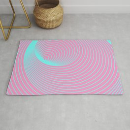 Frequent Repeating Rings Rug
