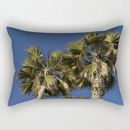 Family of Three Palm Trees Rectangular Pillow