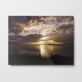 Light in the sky Metal Print