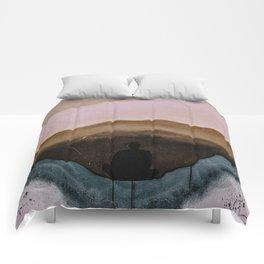 Meditaton Geode Comforters