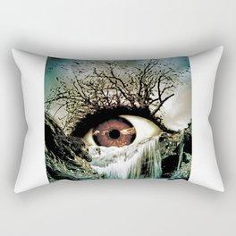 Cascade Crying Eye Rectangular Pillow