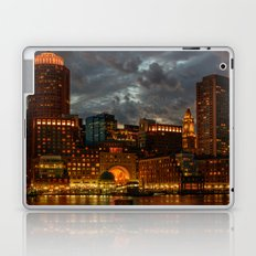 Night at Boston Harbor Laptop & iPad Skin