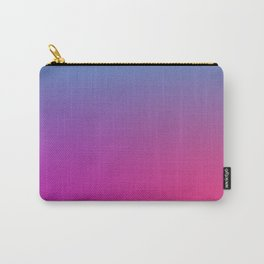 WIZARDS CURSE - Minimal Plain Soft Mood Color Blend Prints Carry-All Pouch
