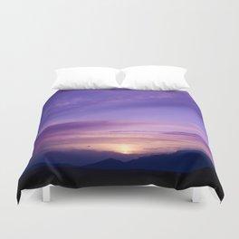 SW Mountain Sunrise - 7 Duvet Cover
