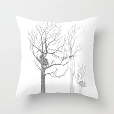 Quilted Forest II Throw Pillow
