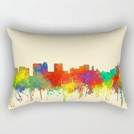 Topeka, Kansas Skyline - SG Rectangular Pillow