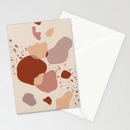 Abstract Artwork - Sand & Stones Stationery Cards