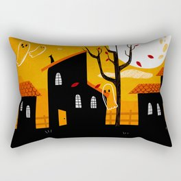 A Haunting We Will Go Rectangular Pillow