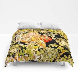 Marguerite's Bower, Mucha Comforters