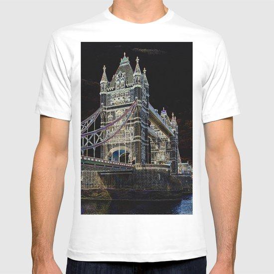 Tower Bridge art T-shirt