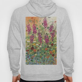 Fireweed in Melon Hoody