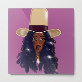 Baduizm State of Mind Metal Print