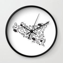 Sweet Sicily Wall Clock
