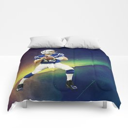 Colts quarterback Andrew Luck Comforters