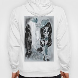 Femme Fatale and the Unknown Man, film noir Hoody