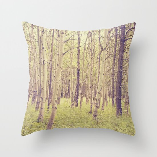Let's get lost Throw Pillow