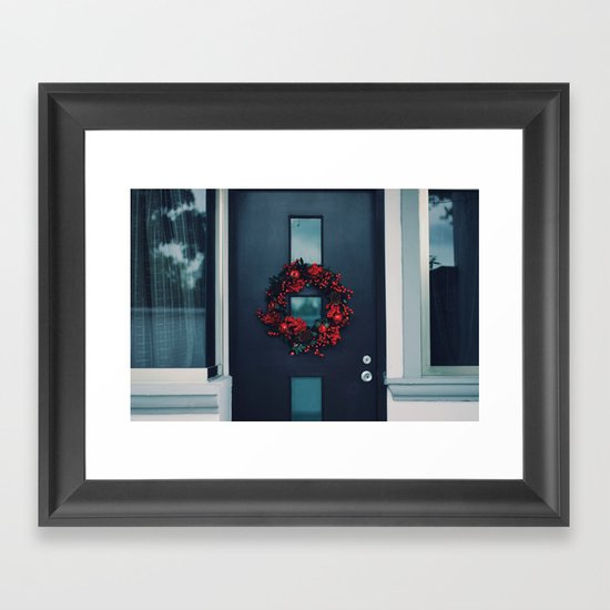 Advent Crown Framed Art Print