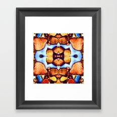 Internal Kaleidoscopic Daze- 23 Framed Art Print