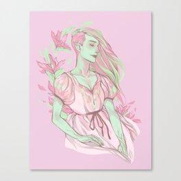 Floral Ghouls - Venus Canvas Print