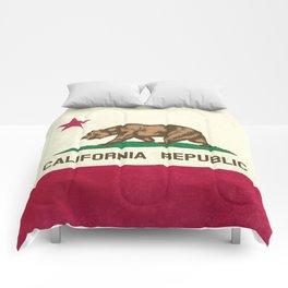California Republic Flag Comforters