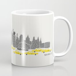 New York City Panoramic Coffee Mug