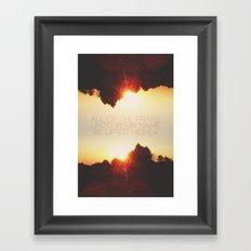 All of the Praise Framed Art Print