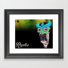Owlin' it Framed Art Print
