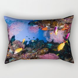 Tropical Fish Great Barrier Reef Coral Sea Rectangular Pillow