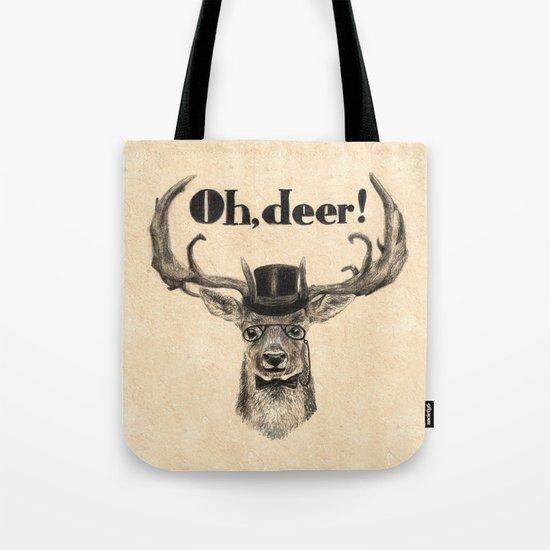 Oh, deer me! Tote Bag