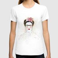 frida kahlo T-shirts featuring Frida Kahlo  by Marttala
