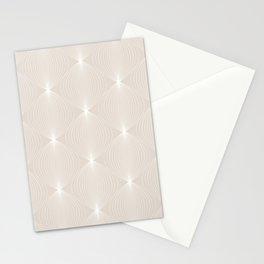 Geometric Orb Pattern XI Stationery Cards