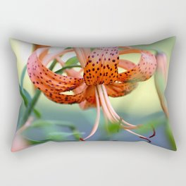 Lovely Lady Takes A Bow Rectangular Pillow