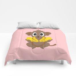 Lil Monkey! Comforters