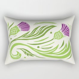 Thistle - Color Rectangular Pillow