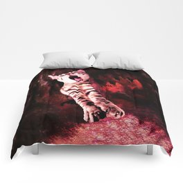 The Great Kitty Warrior of the Fiery Cat Cavern Comforters