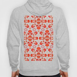 Fiesta Folk Red #society6 #folk Hoody
