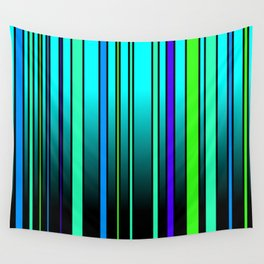Fresh Blue Wall Tapestry