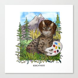 Bobcat Ross Canvas Print