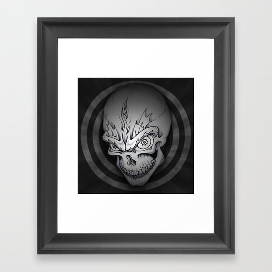 Every man must die Framed Art Print