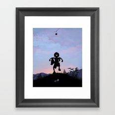 Hulk Kid Framed Art Print